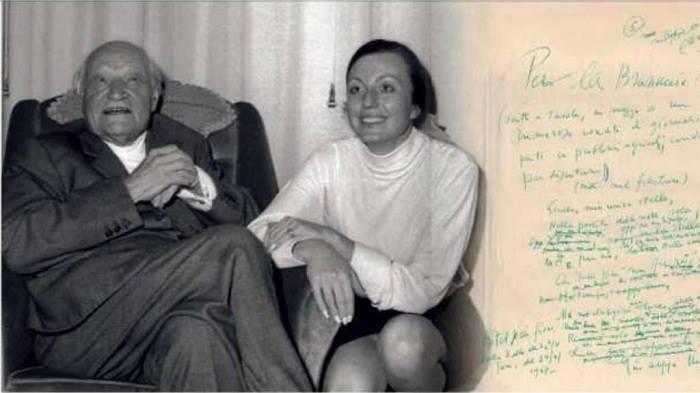 Incontro Esclusivo con Bruna Bianco – ultima compagna di Giuseppe Ungaretti